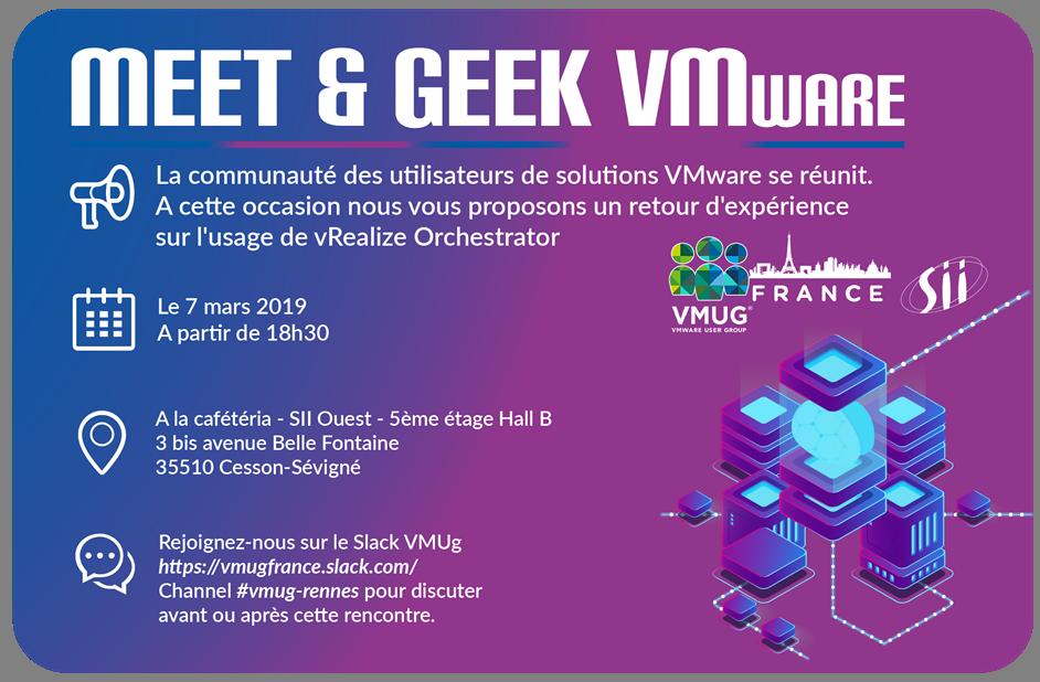 VMUG France - Meet&Geek Rennais, le bilan