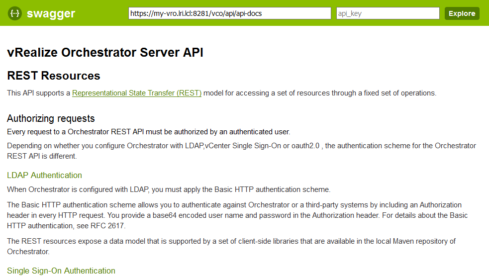 vRealize Orchestrator – Enable HTTP basic Authentication